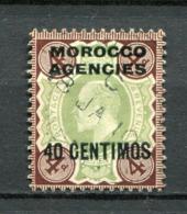 Great Britain Post In Marokko Nr.40           O  Used      (1257) - Oficinas En  Marruecos / Tanger : (...-1958