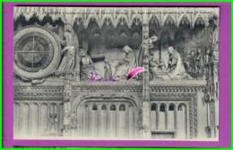 CPA - 28 - CHARTRES - La Cathédrale Extérieur La Tour Du Choeur Horloge Ange Annonce La Conception De Jesus - Chartres