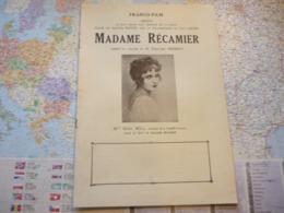 Madame Récamier Franco-film Mlle Marie Bell - Werbetrailer