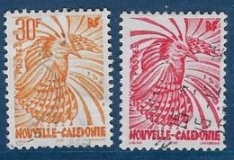 """Nle-Caledonie YT 746 & 747 """" Cagou """" 1997/98 Oblitéré - Neukaledonien"""