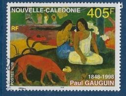 """Nle-Caledonie YT 754 """" Tableau De P. Gauguin """" 1998 Oblitéré - Neukaledonien"""