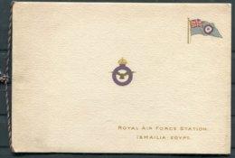 Royal Air Force Station Ismailia Egypt RAF Christmas Card - Documenti