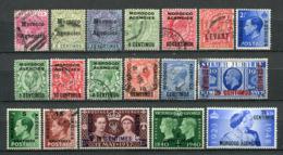 Great Britain Post In Marokko Lot             O  Used, ** MNH + *  Unused      (1259) - Oficinas En  Marruecos / Tanger : (...-1958