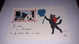 15. BESSE. Illustrée. Chats. - Frankrijk