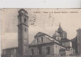 ITALIE - CPA - TORINO CHIESA DI S. GIOVANNI BATTISTA  CATTEDRALE - Churches