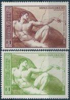 B5932 Russia USSR Art Personality Painting Michelangelo ERROR - Religion