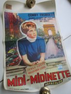 "CONNY FROBOESS  ""Midi-Midinette"" (Junge Leute Brauchen Liebe) /// Belgian Film Poster - Affiches"