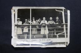 BELGIQUE - Photo Prise à Bord Du S/S Albertville à Anvers En 1928 , Voir Commentaire Au Verso - L 43592 - Bateaux