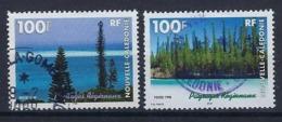 """Nle-Caledonie YT 772 & 773 """" Paysages """" 1998 Oblitéré - Neukaledonien"""