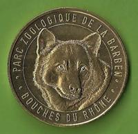 Monnaie De Paris Médaille Touristique Zoo LA BARBEN 2019 LOUP Canidés Animaux Parc Zoologique France Jetons - 2019