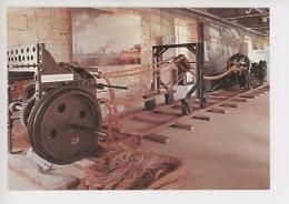 Machine à Corder (fabrication De Corde, Cordage) Corderie Royale De Rochefort (cp Vierge) - Industry