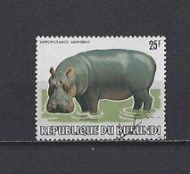 Burundi: 856 Y&T: Obli - 1980-89: Usati