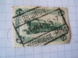 Tr   178 OBL  ZEEBRUGGE  VISMIJNK - Ferrocarril