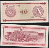Cuba P FX4 - 10 Pesos 1985 - AUNC - Cuba