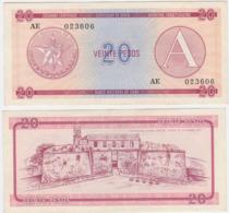 Cuba P FX5 - 20 Pesos 1985 - AUNC - Cuba