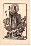 6 Images Pieuses 17e - 18e S. - Images Religieuses