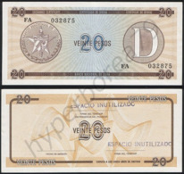 Cuba P FX36 - 20 Pesos 1985 - AUNC - Cuba