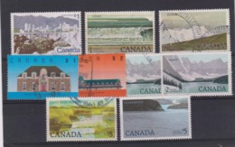 CANADA: Lot De Timbres 'Paysages' Hautes Valeurs - 1952-.... Règne D'Elizabeth II