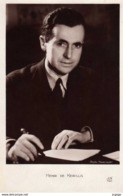 HENRI DE KERILLIS   Journaliste, Ecrivain Et Homme Politique Français .  Photo Harcourt  2 Scans  TBE - Writers