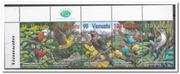 Vanuatu 2001, Postfris MNH, Birds, Plants - Vanuatu (1980-...)