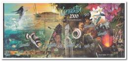 Vanuatu 1999, Postfris MNH, Birds, Fish, Shells, Flowers - Vanuatu (1980-...)