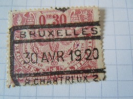 Tr 104  OBL BRUXELLES  R CHARTREUX  2 - Chemins De Fer