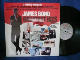 James Bond 33t Vinyle Greatest Hits 13 Themes Originaux - Filmmusik