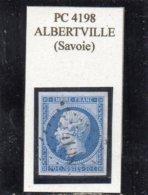 Savoie - N° 14B Obl PC 4198 Albertville - 1853-1860 Napoléon III