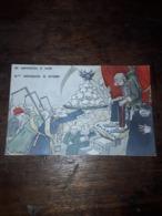 Cartolina Postale Satirica D'epoca, C. Santini, 66 Anniversario Di Regno - Künstlerkarten