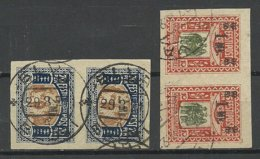Estland Estonia 1920 O ELVA Michel 25 - 26 As Pairs - Estland