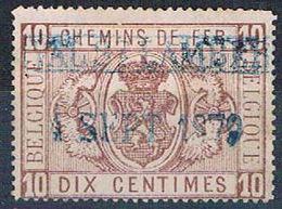 Belgium Q1 Used Coat Of Arms 1879 CV 5.75 (HV0048) - Belgium
