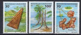 "Nle-Caledonie YT 788 à 790 "" Instruments De Musique "" 1999 Neuf** - Nueva Caledonia"