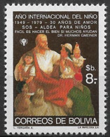 1979 Bolivien    Mi.943 **MNH  Internationales Jahr Des Kindes - Bolivie