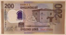 Albania 200 Leke P-new 2019 REPLACEMENT UNC Polymer Banknote - Albanie