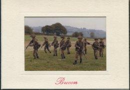 1976 British Army Gurkha Regiment. Brecon Infantry School Christmas Card. - Documents