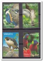 Vanuatu 1999, Postfris MNH, Birds, Flowers - Vanuatu (1980-...)