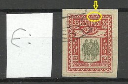 Estland Estonie Estonia 1920 Michel 21 E: 11 ERROR Abart Variety O - Estland
