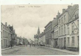 Dixmude - La Rue Woumen , Zeldzame Kaart - Verzonden - Diksmuide