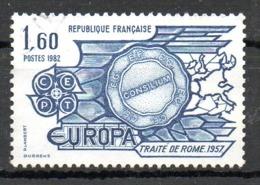 FRANCE. N°2207 Oblitéré De 1982. Traité De Rome. - Europa-CEPT