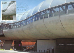 25.9.2012  -  Gare Belval - Université   Photo Feck Claude - Cartes Maximum