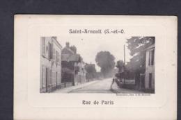 Vente Immediate St Saint Arnoult En Yvelines (78) Rue De Paris ( Ed. Lib. Rossignol) - St. Arnoult En Yvelines