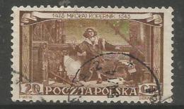 Poland - 1953 Copernicus 20g Used  SG 812  Sc 578 - 1944-.... Republic