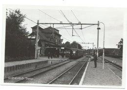 Barneveld Station Gare Electric Train Trein Spoorweg Railway Eisenbahn Tram 1960's - Barneveld