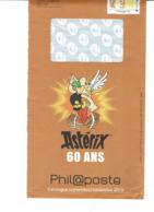 PAP Philaposte Illustration ASTERIX 60 ANS - PAP: Sonstige (1995-...)