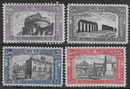 Italia Italy 1928 Regno Milizia Seconda Sa N.220-223 Completa Nuova MH * - 1900-44 Victor Emmanuel III