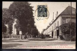 PONTHIERRY 77 - Coin De Route De Fontainebleau Et De La Gare De Ponthierry - A352 - Other Municipalities