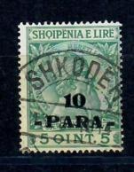 ALBANIA 1914 - GIORGIO CASTRIOTA SCANDERBEG - 10 P SU 5 Q - USATO - Albania
