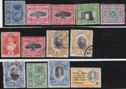Tonga          .   13 Stamps       .   O And  *         .    Cancelled And Mint-hinged - Tonga (1970-...)