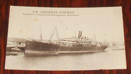 S.S. Général Voyron - Paquebot Des Messageries Maritimes :::: Transports ------------- 510 - Paquebots