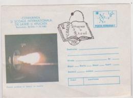 Physics Cover Romania 1983 Special Postmark Physical Progress Craiova 1983 - Physics